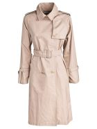 Weekend Max Mara Water-repellent Taffeta Trench Coat - Basic
