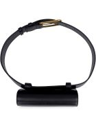 Alexander McQueen Leather Belt Bag - black