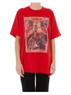 Golden Goose Oversized T-shirt - Red