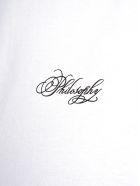 Philosophy di Lorenzo Serafini Philosophy Logo Print T-shirt - WHITE