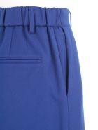 Blumarine Pants Elastic Waist W/lapel - Blu Inchiostro
