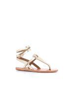 """Ancient Greek Sandals Flip-flop """"estia"""" - Gold"""