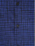 Prada Prada Checked Shirt - BALTIC BLUE
