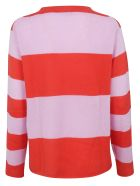 Sofie d'Hoore Striped Sweater - Pink/red