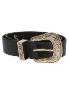B-Low the Belt Cintura Frank - Blkg Black Gold