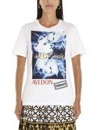 Versace 'avedon' T-shirt - White