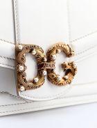 Dolce & Gabbana Logo Shoulder Bag - White