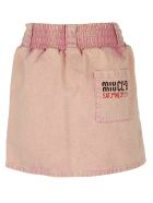 Miu Miu Miumiu Skirt - Rosa