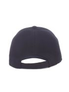 Prada Logo Patched Baseball Cap - Black