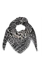 Saint Laurent Foulard - Black