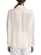 SEMICOUTURE Parris Shirt - Bianco