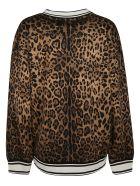 Dolce & Gabbana Animal Print Sweatshirt - leopard print