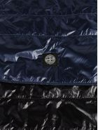 Stone Island Logo Patch Scarf - Blue