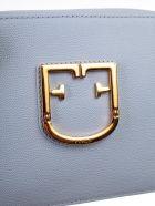 Furla Logo Plaque Cross Body Bag - Violetta