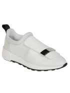 Sergio Rossi Front Flap Sneakers - Bianco