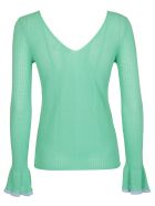 See by Chloé Flared Cuffs Sweater - Green