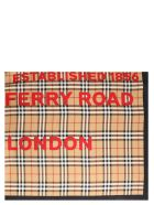Burberry 'logo Horsferry Road' Foulard - Multicolor