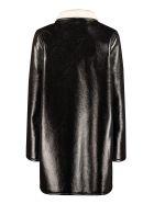 A.P.C. Poupee Faux Sheepskin Coat - black