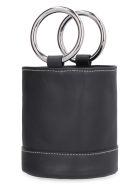 Simon Miller S801 Bonsai Leather Mini Bucket-bag - black