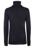 Zanone Turtleneck Sweater - Navy