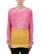 Maison Flaneur Sweater - Pink/yellow