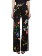 Etro Floral Straight Fit Trousers - Basic