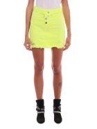 AMIRI Neon Yellow Skirt - Yellow