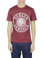 Versus Versace Circle Logo T-shirt - Bordeaux
