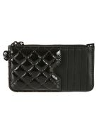Alexander McQueen Zipped Cardholder - Black