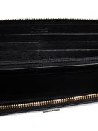 Furla Embellished Zipped Around Wallet - Onyx