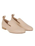 Jil Sander Navy Classic Loafers - Apricot