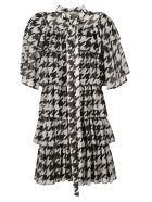 Giuseppe di Morabito Star Print Dress - Black/White