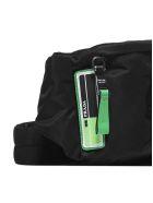 Prada Classic Belt Bag - Nero verde fluo