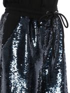Emporio Armani Sequined Shorts - Blu