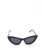 Saint Laurent SL 213 LILY Sunglasses - Black Black Black