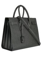 Saint Laurent Small Sac De Jour Hand Bag - Nero