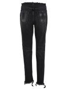 Ben Taverniti Unravel Project Unravel Unravel Project Frayed Jeans - BLACK