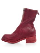 Guidi Orthopaedic Mid Front Zip - T Red