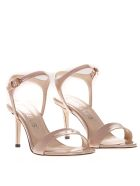 Marc Ellis Powder Patent Leather Sandals - Powder
