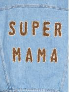 Forte Couture 'super Mama' Jacket - Light blue