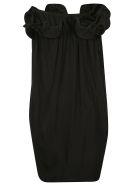 Lanvin Ruffled Classic Dress - Black