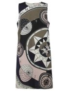 Tory Burch Printed Dress - multicolored