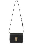 Burberry Small Tb Shoulder Bag - Black