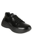 Prada Linea Rossa Logo Sneakers - Nero