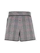 Boutique Moschino Houndtooth Check Shorts - Multicolor