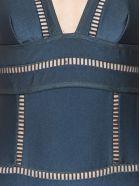 Zimmermann 'tali' Swimwear - Grey