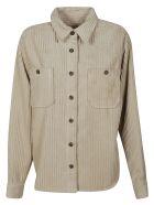 Isabel Marant Ribbed Shirt - Beige