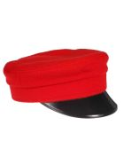 Ruslan Baginskiy Stitch Detail Hat - Red