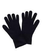 Agnona Blue Cashmere Gloves - Blue