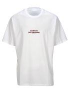 Neil Barrett T-shirts OLYMPIAN SKATEBOARDER PRINTED T-SHIRT
